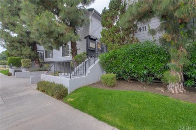 Valley Village Condo/Townhouse For Sale: 12415 Riverside Drive #1