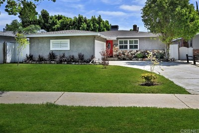 Sherman Oaks Single Family Home For Sale: 5738 Bevis Avenue