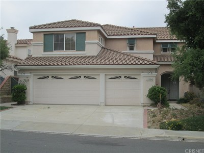 Newhall Single Family Home For Auction: 23820 Oakhurst Drive