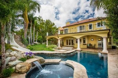 Calabasas CA Single Family Home For Sale: $2,425,000