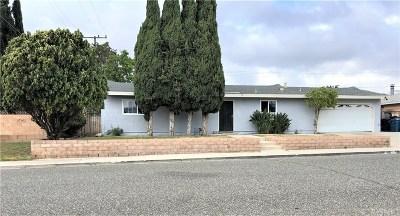 Simi Valley Single Family Home For Sale: 1621 Ballard Street