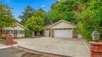 Newhall Single Family Home Active Under Contract: 23423 Maple Street