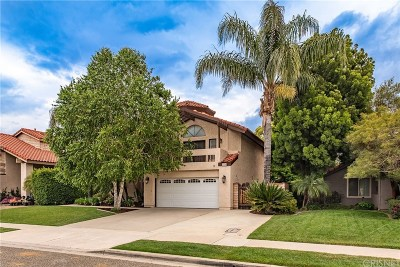 Simi Valley Single Family Home Active Under Contract: 2096 Stilman Court