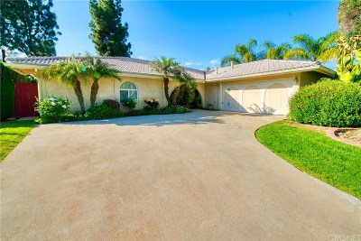 Calabasas Single Family Home For Sale: 22651 Jameson Drive