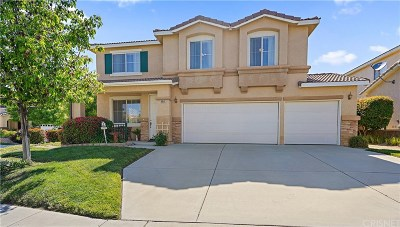 Castaic Single Family Home For Sale: 30511 Cannes Place