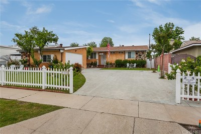 Granada Hills Single Family Home Active Under Contract: 11220 Gloria Avenue