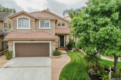 Saugus Single Family Home Active Under Contract: 19925 Rhona Place