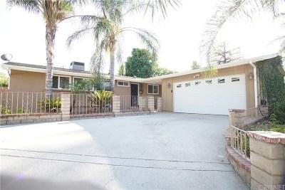 Single Family Home For Sale: 20216 Haynes Street
