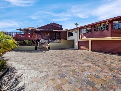 Calabasas CA Single Family Home Active Under Contract: $1,749,000