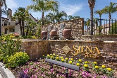Valencia Condo/Townhouse For Sale: 24153 Del Monte Drive #351