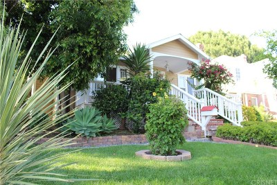 Glendale Single Family Home Active Under Contract: 537 Spencer Street