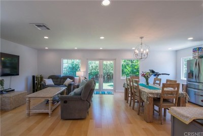 Encino Single Family Home Active Under Contract: 17601 Delano Street