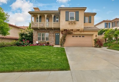 Stevenson Ranch Single Family Home Active Under Contract: 26514 Beecher Lane