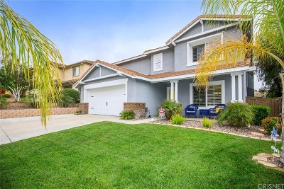 Castaic Single Family Home Active Under Contract: 32742 The Old Road