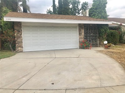 Encino Single Family Home Active Under Contract: 6316 Alonzo Avenue