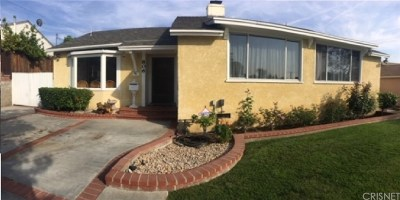 Burbank Single Family Home For Sale: 806 University Avenue