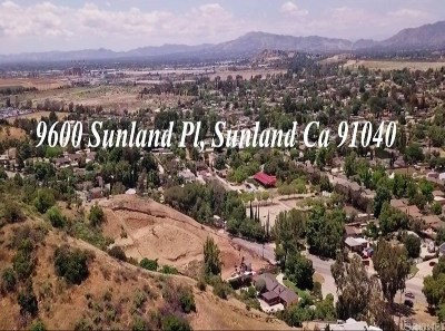 Sunland Residential Lots & Land For Sale: 9600 Sunland Place