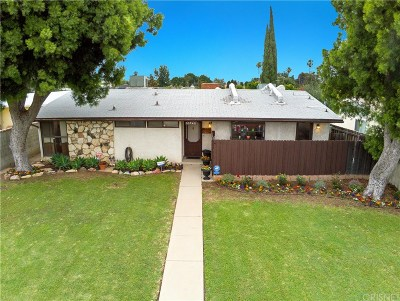 Granada Hills Single Family Home Active Under Contract: 16745 Lassen Street
