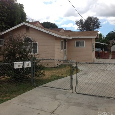 North Hills Single Family Home For Sale: 15032 Nordhoff Street
