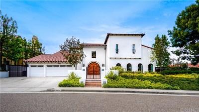 Encino Single Family Home For Sale: 3949 Vista Linda Drive