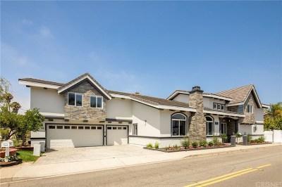 Manhattan Beach Single Family Home For Sale: 1659 6th Street