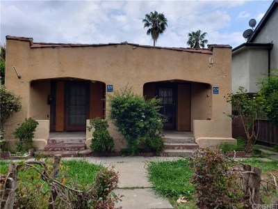 Los Angeles County Residential Income Active Under Contract: 824 Huntley Drive