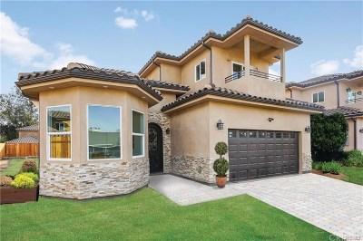 Valley Glen Single Family Home For Sale: 13518 Vose Street