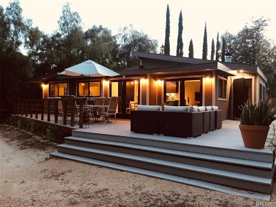 Ojai Single Family Home For Sale: 3630 Thacher Road