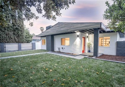 Van Nuys Single Family Home For Sale: 15210 Runnymede Street