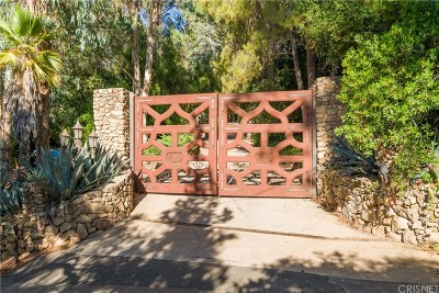 Calabasas Single Family Home For Sale: 640 Wonder View Drive
