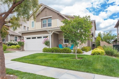 Santa Clarita, Canyon Country, Newhall, Saugus, Valencia, Castaic, Stevenson Ranch, Val Verde Single Family Home For Sale: 22588 Lamplight Place