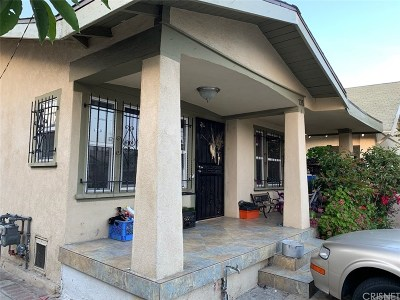 Los Angeles Single Family Home For Sale: 135 East 64th Street