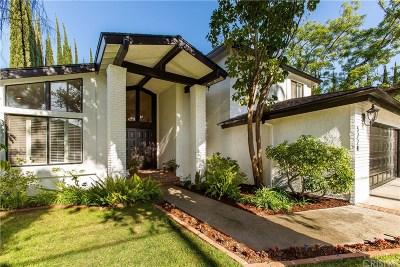 Tarzana Single Family Home For Sale: 5228 Avenida Hacienda