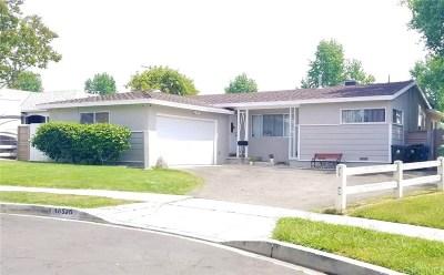 North Hills Single Family Home For Sale: 16526 Ballinger Street