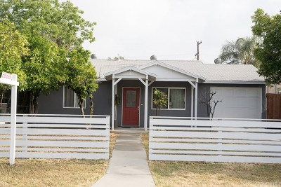 Mission Hills San Fernando Single Family Home For Sale: 15451 Lemarsh Street
