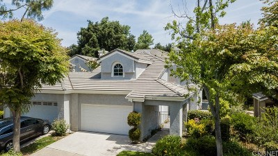 Westlake Village Condo/Townhouse For Sale: 5657 Tanner Ridge Avenue