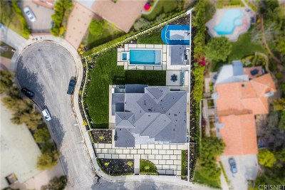 Tarzana Single Family Home For Sale: 4450 Gayle Drive