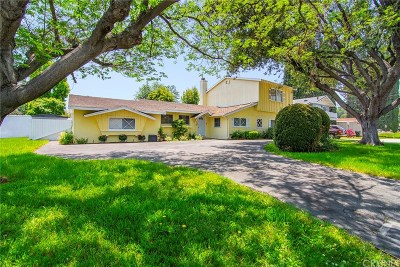Woodland Hills Single Family Home For Sale: 23006 Mariano Street