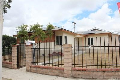 Arleta Single Family Home For Sale: 9070 Cranford Avenue