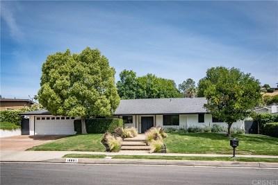 Tarzana Single Family Home For Sale: 18881 Rosita Street