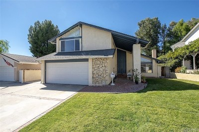 Valencia Single Family Home For Sale: 22920 Cerca Drive