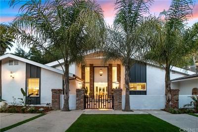 Tarzana Single Family Home For Sale: 4920 Topeka Drive