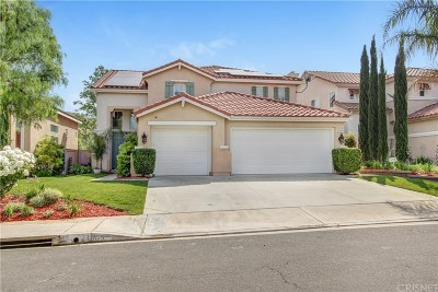 Los Angeles County Single Family Home Active Under Contract: 21005 Oakleaf Canyon Drive