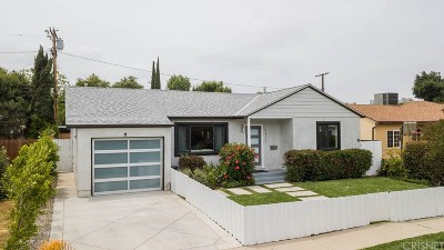 Encino Single Family Home For Sale: 5907 Alonzo Avenue