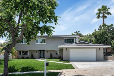 Calabasas Single Family Home For Sale: 22346 De Kalb Drive