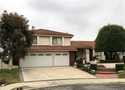 Los Angeles County Single Family Home For Sale: 11700 Monte Leon Way