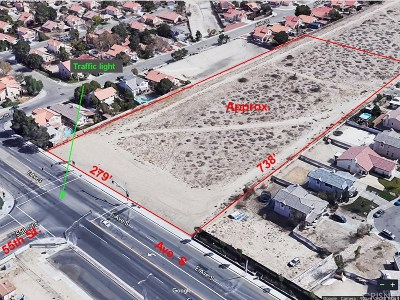 Palmdale Residential Lots & Land For Sale: 55 East Ave. S