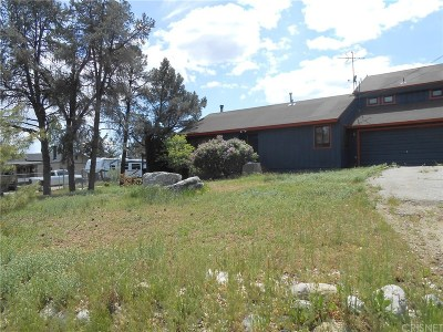 Frazier Park Single Family Home Active Under Contract: 1013 Snowline Drive
