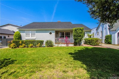 Glendale Single Family Home For Sale: 1317 Idlewood Road