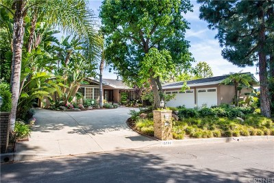 Encino Single Family Home For Sale: 15732 High Knoll Road